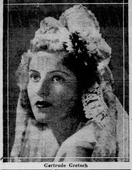 Bridal photo of Gertrude Gretsch, 1944