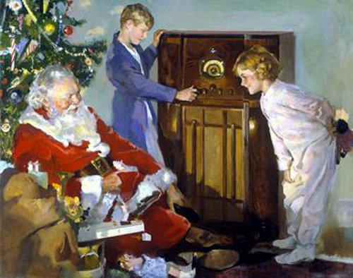 Roy Spreter, Children on Christmas Morning
