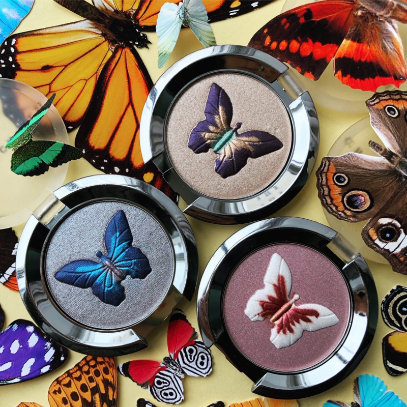 Makeup Museum collection - Chantecaille Butterfly eyeshadows