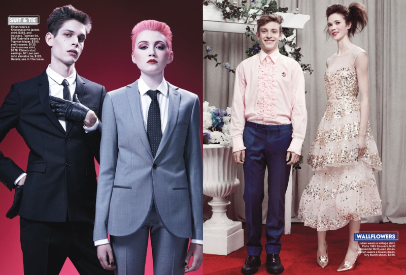 Teen Vogue 2014 prom editorial