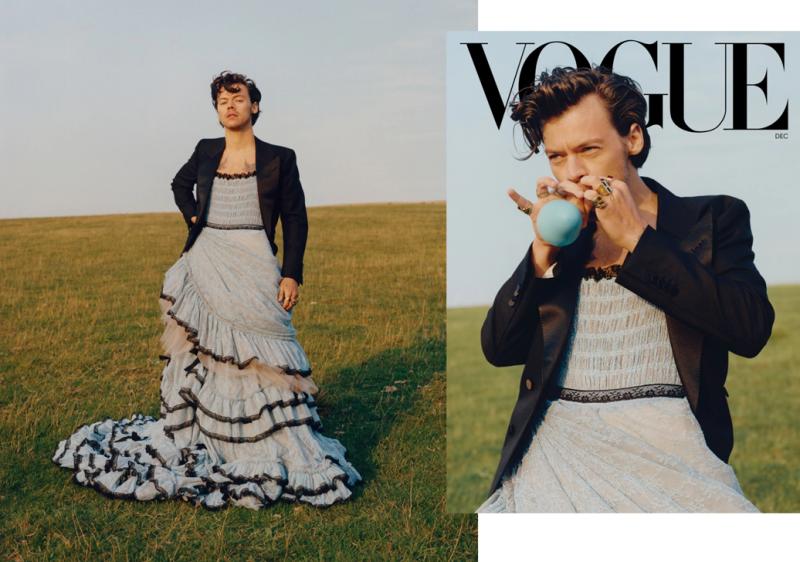 Harry Styles, Vogue December 2020
