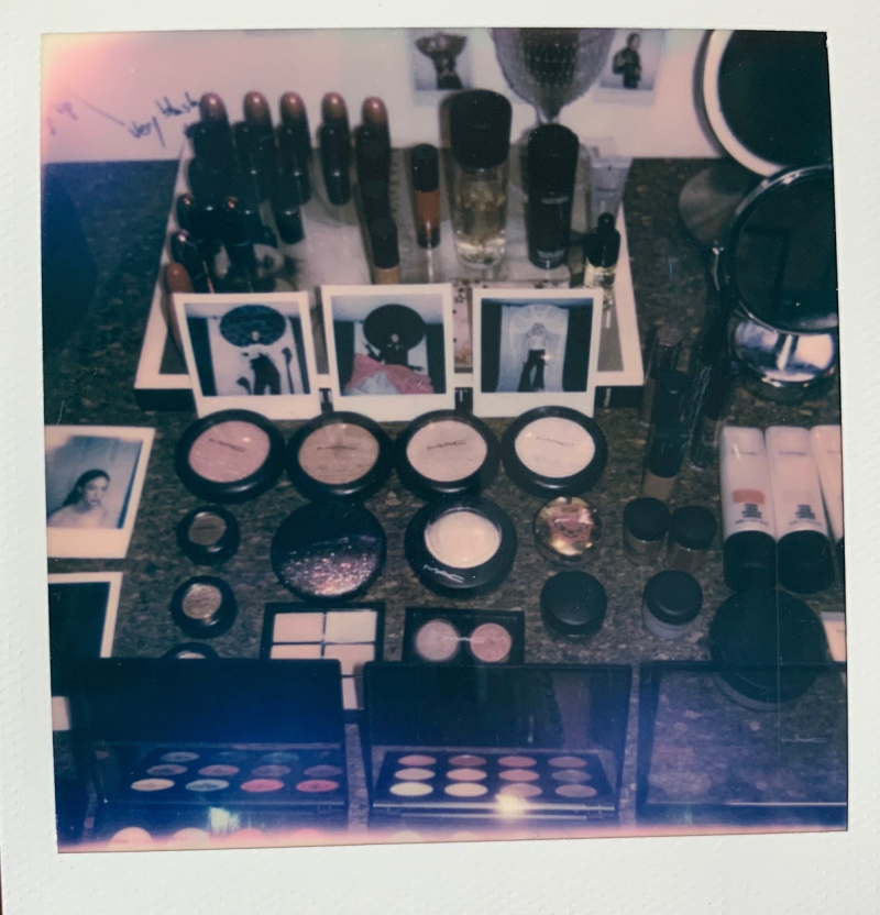 MAC makeup direction for Harris Reed by Terry Barber