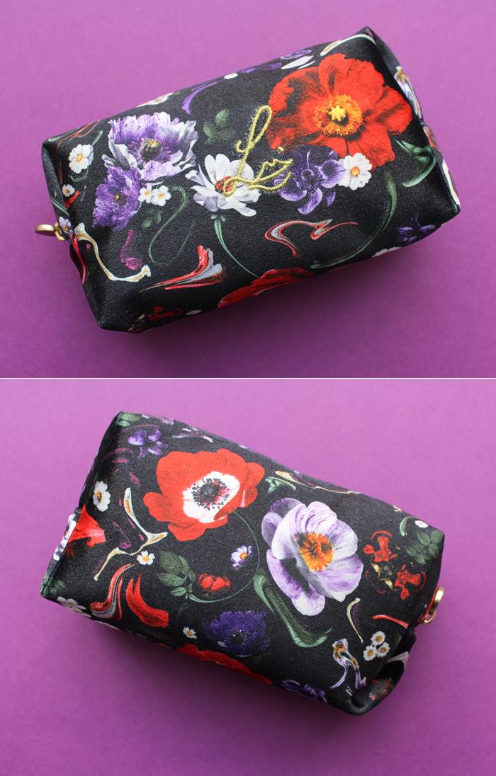 Lisa Eldridge Floral Fantasy bag designed by Jon Jacobsen