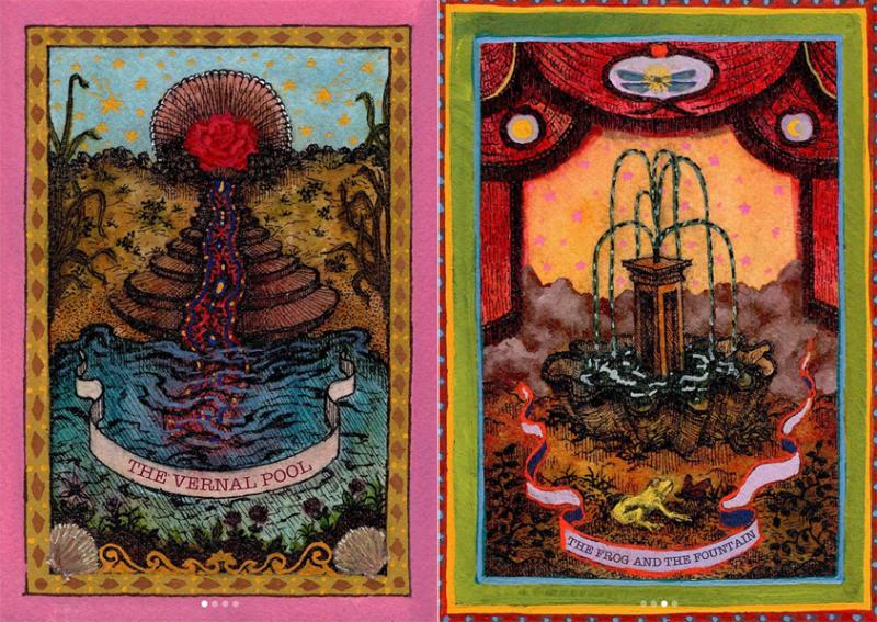 Tarot cards by Lukas Palumbo