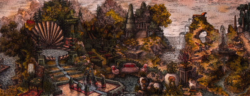 Lukas Palumbo, The Garden at Tilsit
